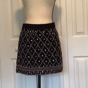 Guess Lined beaded skirt